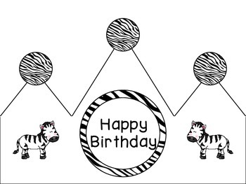 Zoo Animals Birthday Kit {Jungle Safari Theme}