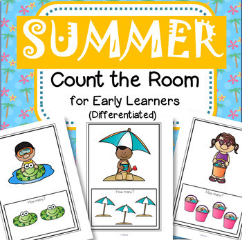 SUMMER Count the Room Differentiated Center for Preschool & Kindergarten