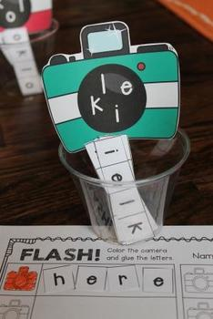FLASH! Mixed-Up Sight Words FREEBIE - Interactive Literacy Center