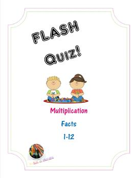 Multiplication FLASH Quiz! - Factors 1-12