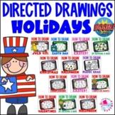 Digital Directed Drawing Boom Cards Holidays Bundle