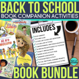 BACK TO SCHOOL BOOK COMPANION BUNDLE Activities and Read A