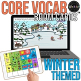 Core Vocabulary Boom Cards™ for Speech Therapy: Winter Theme