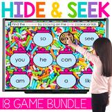 FLASH SALE  Digital Hide and Seek   Letters & Sight Word P