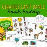 Giraffes Can't Dance Book Buddy (+BOOM Cards)