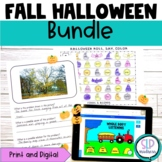 Digital Print Halloween Speech Therapy Print and Digital B