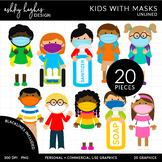 Kids in Masks - Unlined [Ashley Hughes Design]
