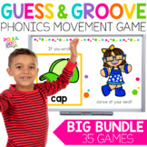 FLASH SALE Phonics Movement Games BIG BUNDLE for Google (T