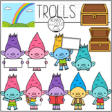 Trolls Clipart by Bunny On A Cloud