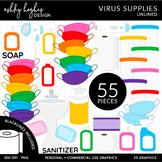 Virus Supplies - Unlined [Ashley Hughes Design]