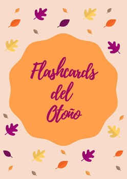 FLASHCARDS DEL OTOÑO