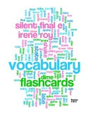 FLASHCARDS: SILENT FINAL E