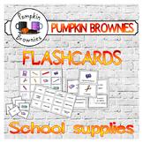 FLASHCARDS: School supplies