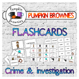 FLASHCARDS: crime / investigation
