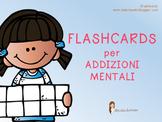 FLASHCARDS per ADDIZIONI MENTALI