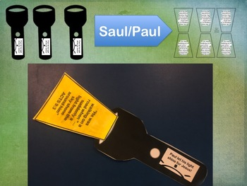 FLASHLIGHT CRAFT Saul to Paul
