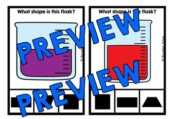 FLASK SHAPES CENTER (KINDERGARTEN GEOMETRY ACTIVITIES)