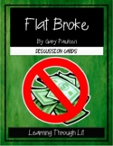 Gary Paulsen FLAT BROKE - Discussion Cards