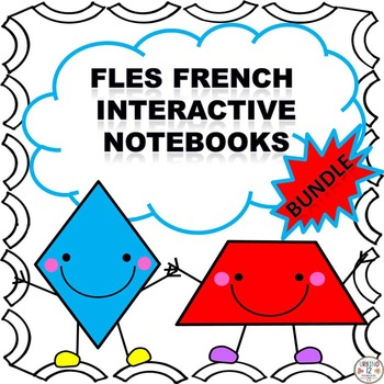 FLES French Interactive Notebook Bundle