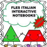 FLES Italian Interactive Notebook Bundle