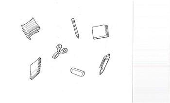 FLES School Supplies Sentence Frames