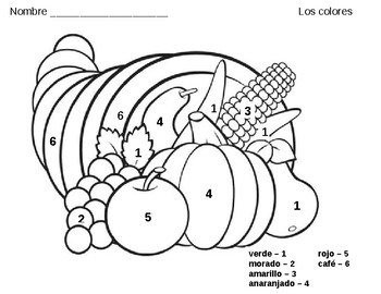 FLES Thanksgiving Cornucopia