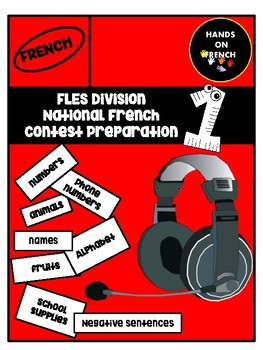 FLES preparation- National French Contest- Cahier 1
