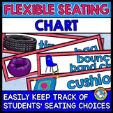 CLASSROOM MANAGEMENT WITH FLEXIBLE SEATING CHART (ALTERNATIVE SEATING CHART)