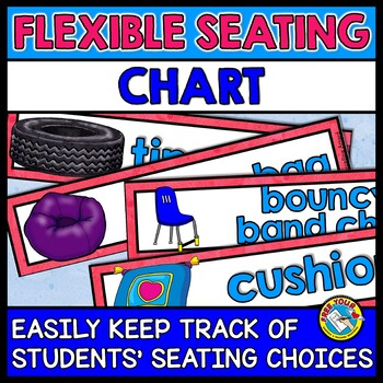 FLEXIBLE SEATING CHART:ALTERNATIVE SEATING CHART FOR BETTE