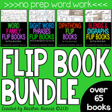 FLIP BOOK BUNDLE- 65+ word work books