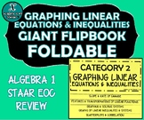 FLIP BOOK / FOLDABLE - Graphing Linear Equations - STAAR E