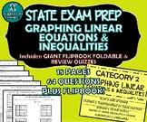 FLIP BOOK / FOLDABLE / QUIZZES - Linear Equations - STAAR EOC REVIEWS