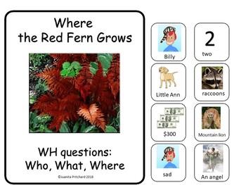 FLIP BOOK FREEBIE - Where The Red Fern Grows