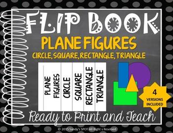 FLIP BOOK  Plane Figures Virginia SOL 3.14