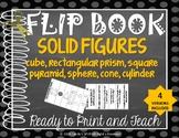 FLIP BOOK Solid Geometric Figures