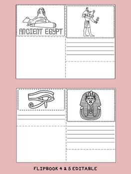 FLIP BOOKS : Ancient Egypt