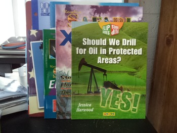 FLIP SIDES  DRILL FOR OIL IN  AREAS ETC         (set of 5)