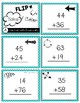 FLIP, SOLVE, & COLOR -- 2 Digit Addition with Regrouping Pirate Center