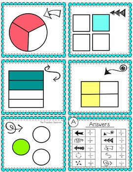 FLIP, SOLVE, & COLOR Dinosaur-- Fractions