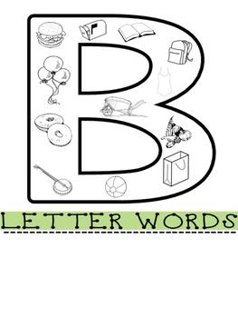 "FLIP YOUR WAY TO GOOD SPEECH- MY ""B"" FLIP BOOK- Speech Therapy"