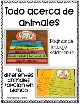 FLIPBOOK- Animal research {SPANISH}