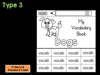 FLIPBOOK Bundle : Dogs - Farm Animals : Research, Report, Dog
