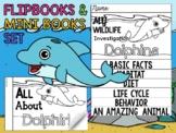 FLIPBOOK Bundle : Dolphins - Sea Ocean Animals : Research, Report, Writing
