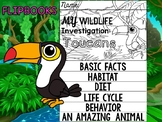 FLIPBOOK Bundle : Toucans - Rain forest Animals: Research, Unit Study
