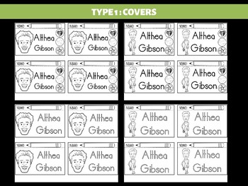 FLIPBOOKS : Althea Gibson  - Civil Rights Heroes