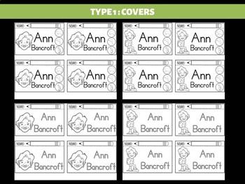 FLIPBOOKS : Ann Bancroft