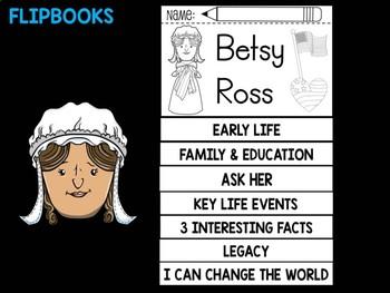 FLIPBOOKS : Betsy Ross