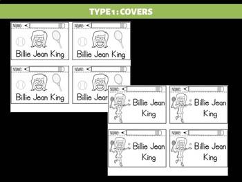 FLIPBOOKS Bundle : Billie Jean King