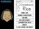 FLIPBOOKS Bundle : Condoleezza Rice - Black History