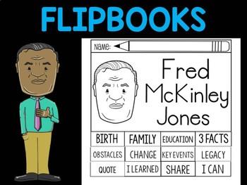 FLIPBOOKS Bundle : Fred McKinley Jones  - Black History